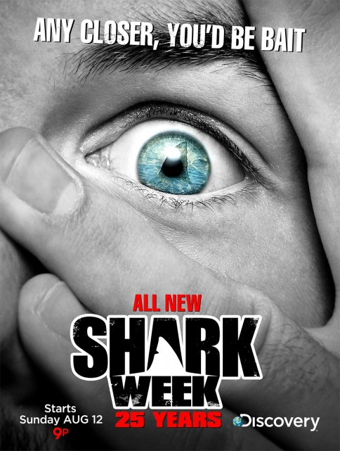 Shark Week on Discovery Channel TV Teaser Commercial