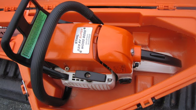 The Official Stihl 028 WB AV Super Electronic Quickstop