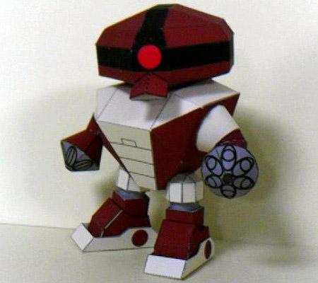 MSM04 Acguy Papercraft Gundam