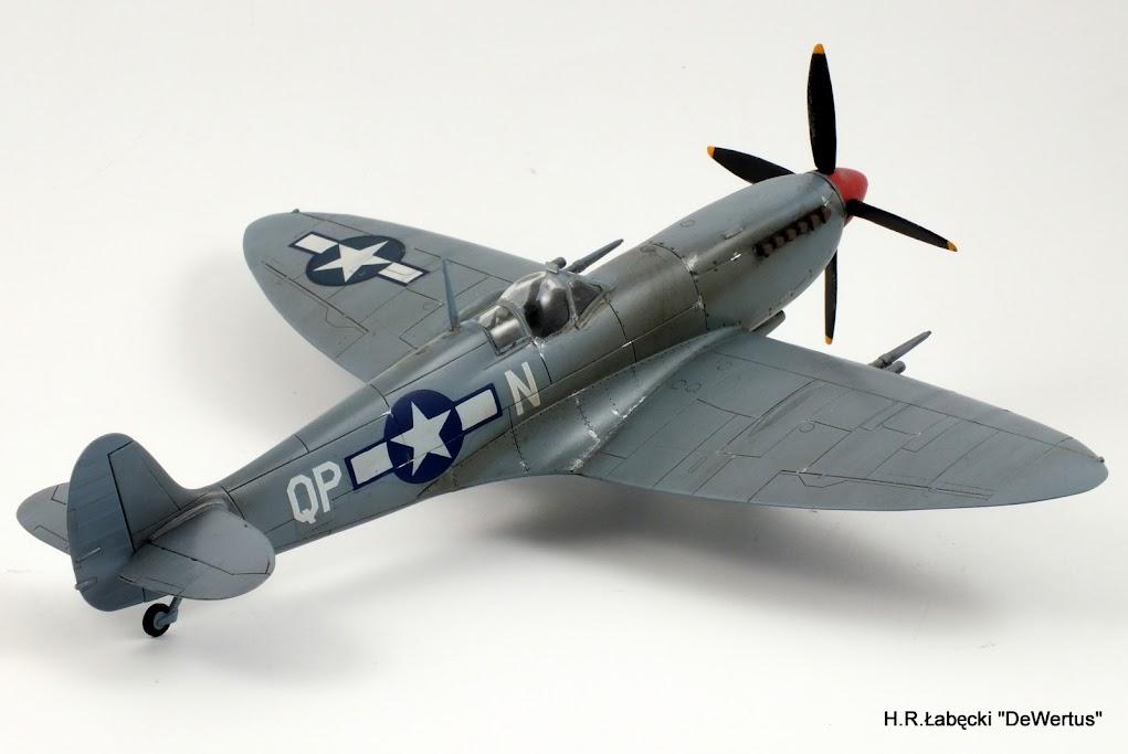 Malta/Sicily 1943; Spitfire Mk.IXc 2FS/52FG; Italeri 1/48 DSCF3815