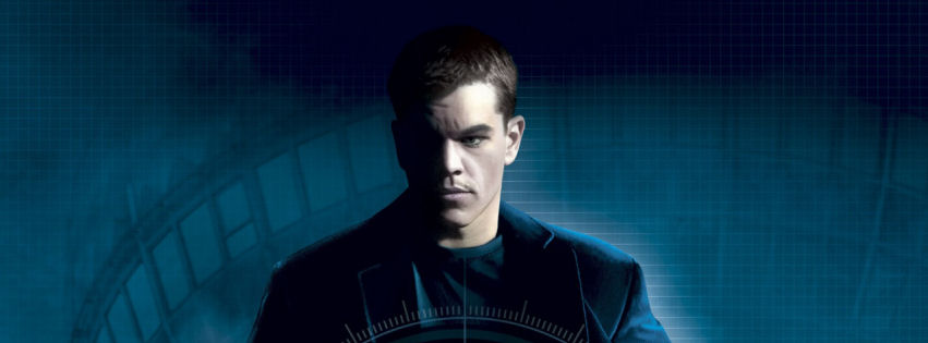 Matt Damon in bourne movies facebook cover