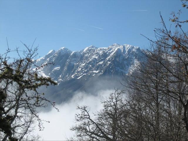 Rutas Montaña Asturias: Vista de la zona de Huertos del Diablo