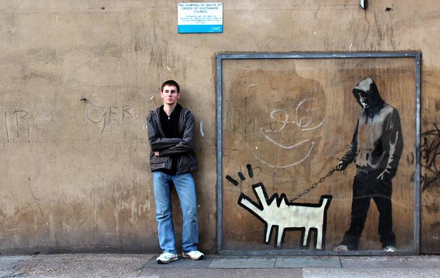 Вдъхновяващи примери за банкси арт и графити (Bansky art)