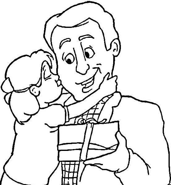 Dibujos para colorear de papa - Imagui