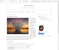 Réédition modèle Minima - Vue Web
