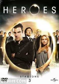 Giải Cứu Thế Giới 3 - Heroes Season 3 (2009) Poster