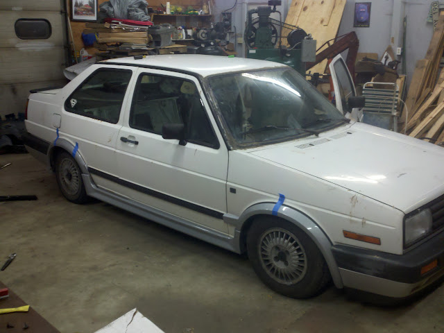 Vwvortex Com Kamei Body Kit On My Mk2 Jetta Coupe What