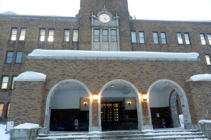 北海道大学農学部の趣ある風景
