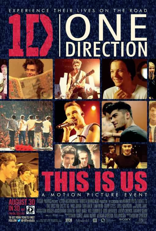 Poster Of English Movie One Direction: This Is Us (2013) Free Download Full New Hollywood Movie Watch Online At Alldownloads4u.Com