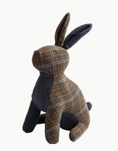 Tweed Hare Doorstop