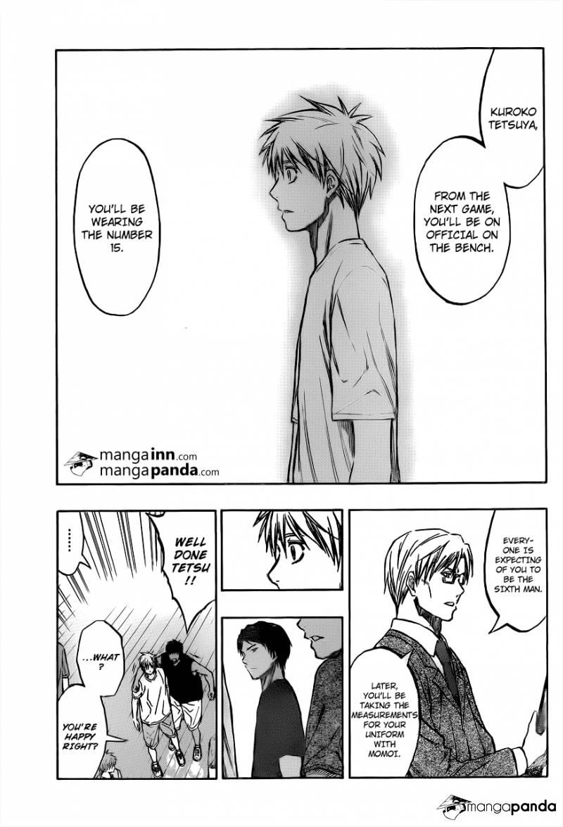 Kuroko no Basket Manga Chapter 210 - Image 09