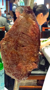 Fogo de Chão grand opening - Fraldinha - juicy bottom sirloin