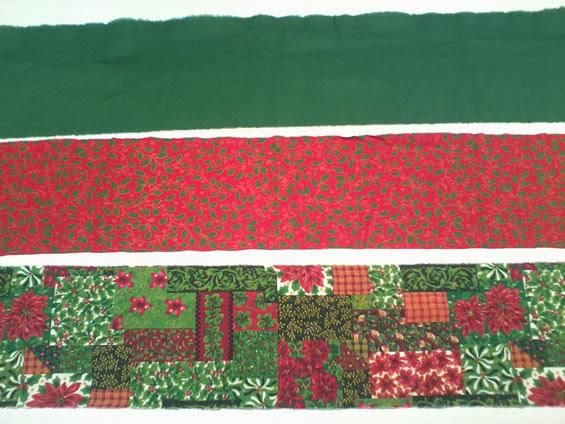 Tecido de patchwork natal