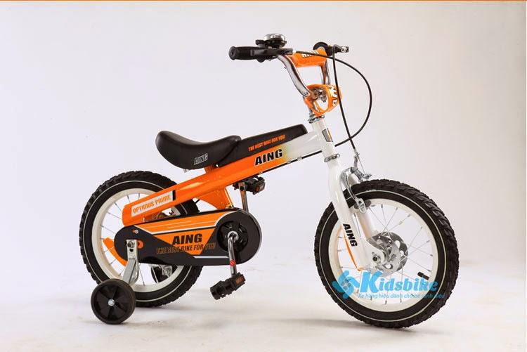 Xe đạp trẻ em Stitch AING màu cam