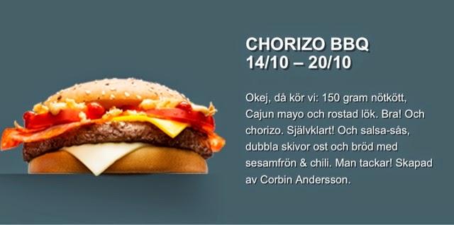 McDonald's Sweden My Burger 2014
