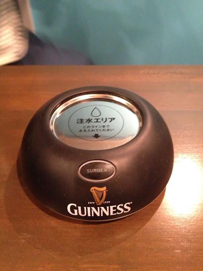 ギネス モバイルサージャー,ギネスビール 泡