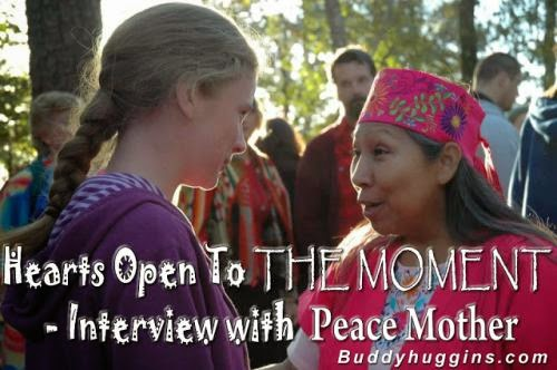 Hearts Open To The Moment Interview With Peace Mother