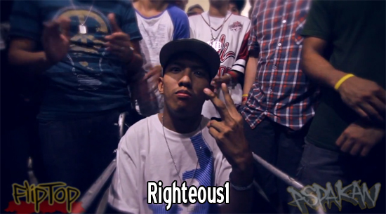 FlipTopBattles – Aspakan – Righteous1 vs Asero – Video