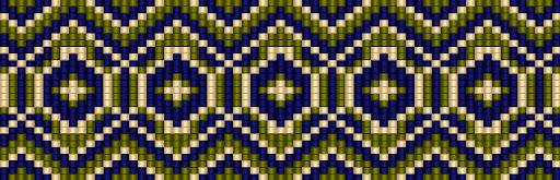 схема браслет ткачество бисером loom free bead pattern