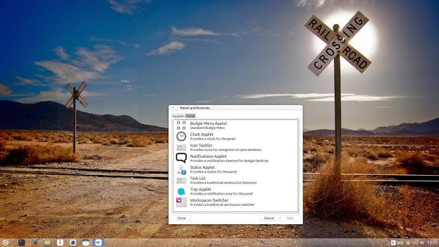 Budgie desktop v7 en ubuntu Trusty