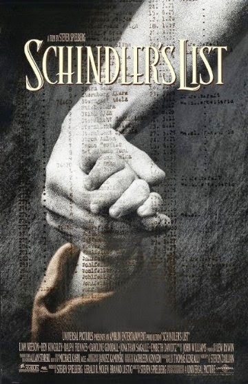 Poster Of Schindler's List (1993) Full Movie Hindi Dubbed Free Download Watch Online At alldownloads4u.com