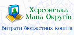 Kherson Map of Districts