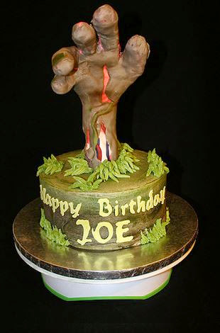50 Best Zombie Birthday Cakes Ideas And Designs iBirthdayCake