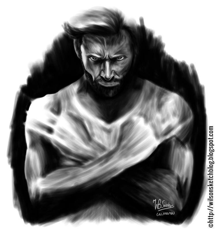 Hugh Jackman as Wolverine (Draft #01)