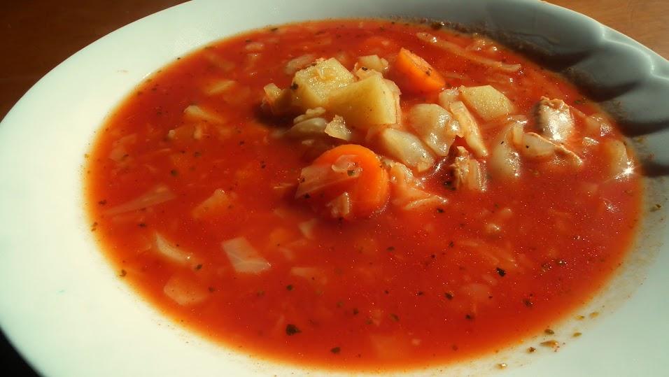 zupa żniwiarza, czyli pomidorowa inaczej