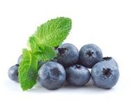 Fruta Que deixa o dente azul