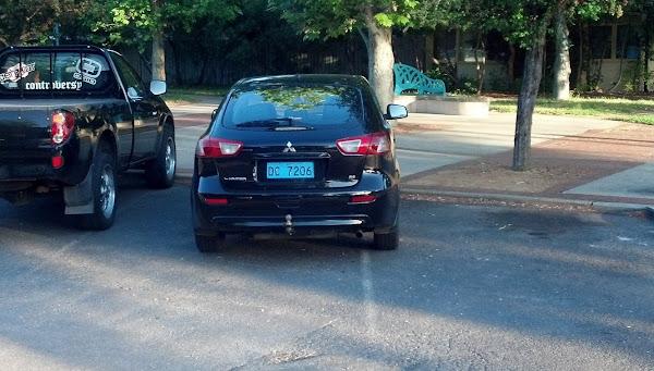 diplomatic parking
