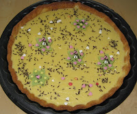 La tarte au chocolat blanc - recette indexée dans les Desserts