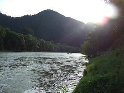 beautifull sanse in Pieniny