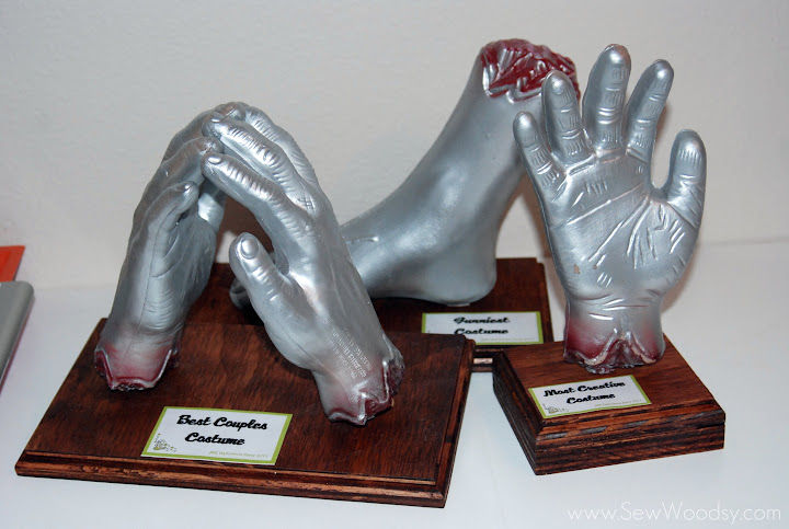 severed hand trophies