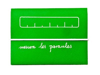 quadern mesura les paraules