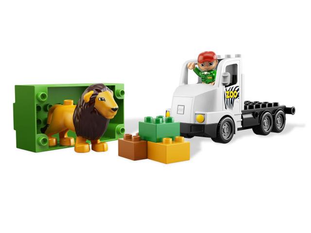 レゴ デュプロ どうぶつえんトラック 6172