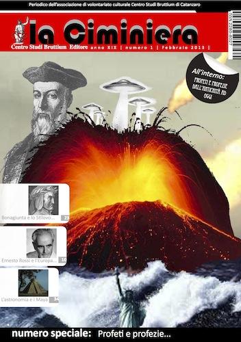 Cover de la Ciminiera anno XIX (2013) n. 1