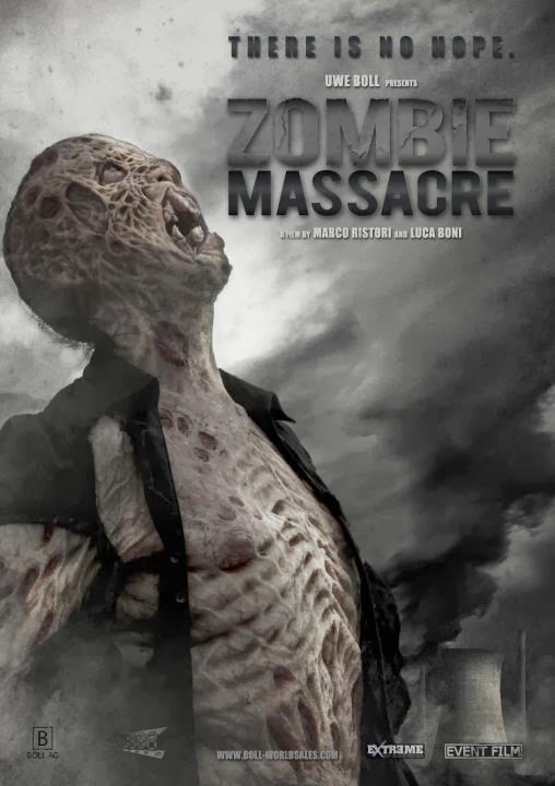 Poster Of English Movie Zombie Massacre (2013) Free Download Full New Hollywood Movie Watch Online At Alldownloads4u.Com