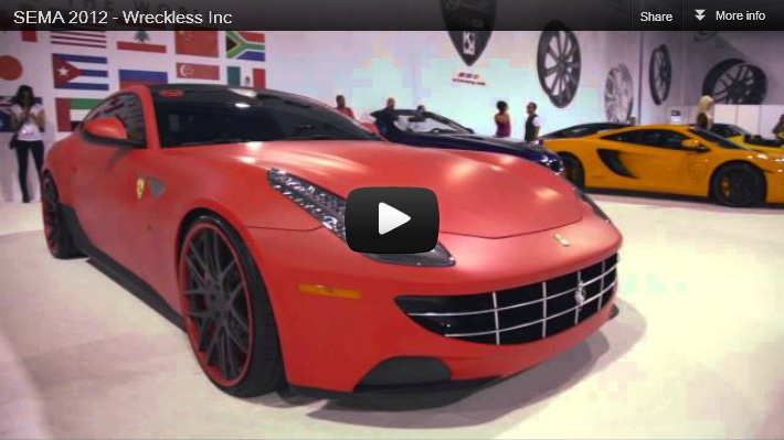 2012 SEMA Show by Ian King of Wreckless Inc Custom Pinoy Rides