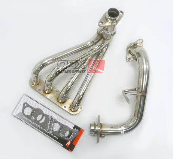 OBX Exhaust Header 99 00 01 02 03 04 05 Toyota MR2 Spyder 1 8L ZZW30