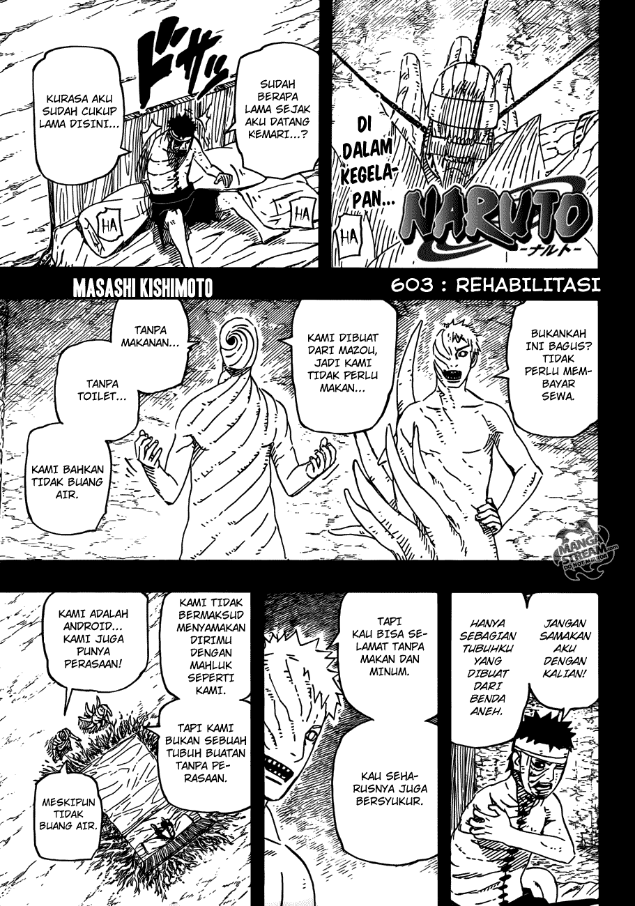 naruto 603 01 Naruto 603   Rehabilitasi