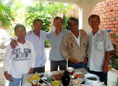 KM Việt Nam đón tiếp Tú Dản k1 14/03/2013