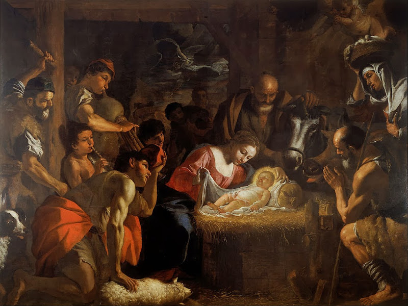 Mattia Preti - The Adoration of the Shepherds - Google Art Project