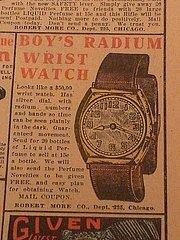 Radioaktyvus laikrodis berniukams