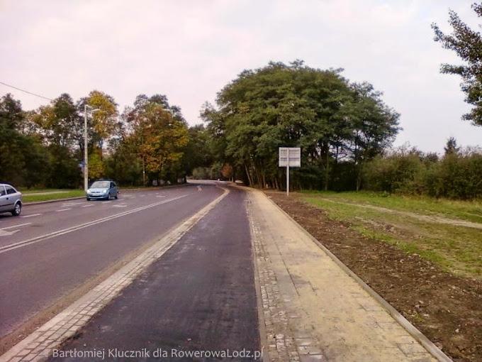 Na całym odcinku ul. Drewnowskiej jest już wylany asfalt