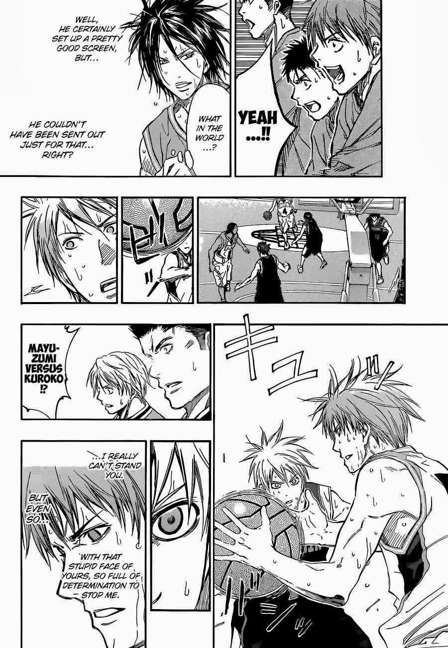 Kuroko no Basket Manga Chapter 248 - Image 08