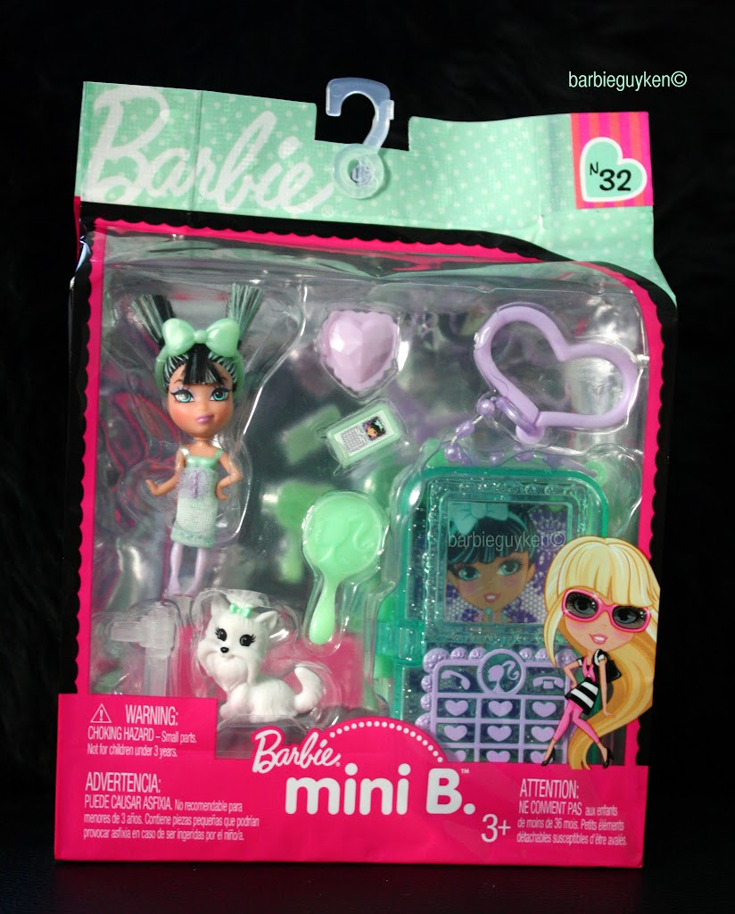 Barbie mini B. doll N 32