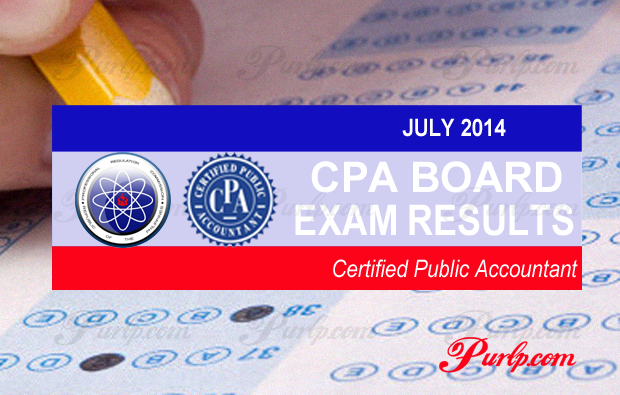 July 2014 CPA Licensure Exam Full List Result
