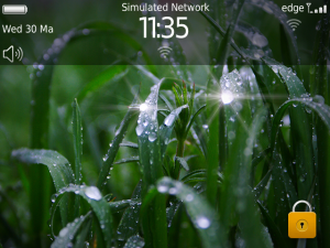 Raining HD Animated Theme for BlackBerry Bold 9900/9930 OS7 ...