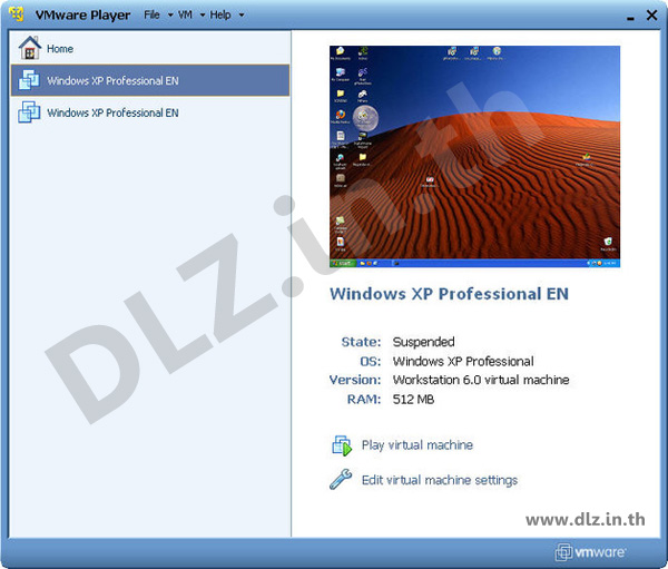 ดาวน์โหลด VMware Player 12 โหลดโปรแกรม VMware Player ล่าสุดฟรี